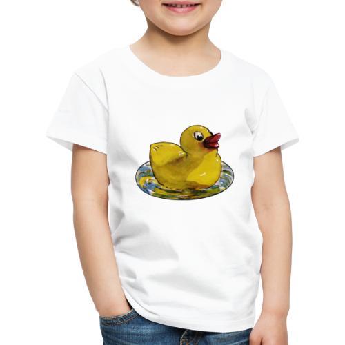 süßes Entlein - Kinder Premium T-Shirt