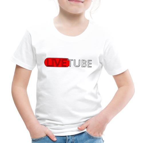 Livetube - Børne premium T-shirt