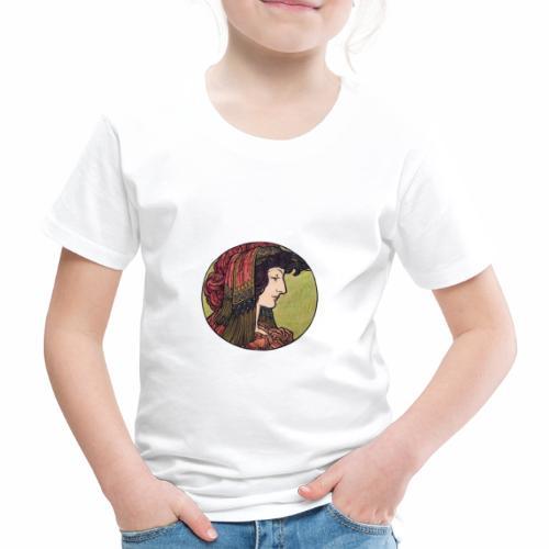 Alphonse Maria Mucha Stained Glass #6 - Kids' Premium T-Shirt