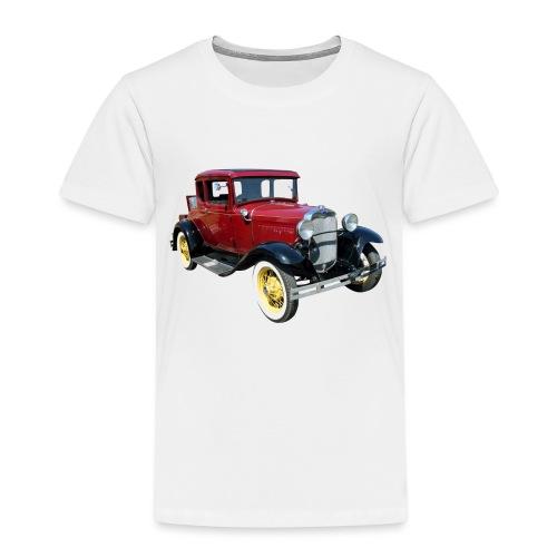 Car - Premium T-skjorte for barn