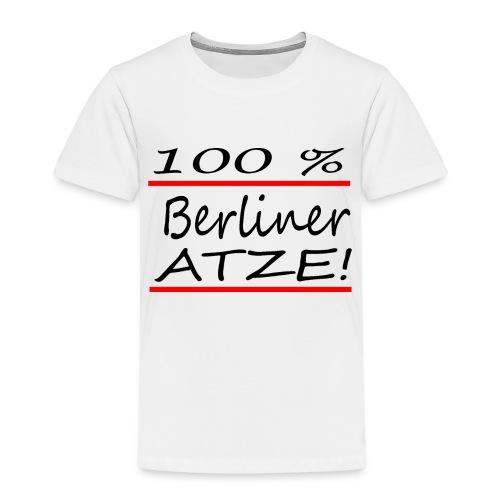 100% Berliner Atze - Kinder Premium T-Shirt