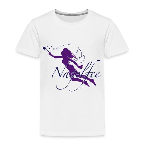 Nagelfee vom Werbeprofi für Dein Nagelstudio - Kinder Premium T-Shirt