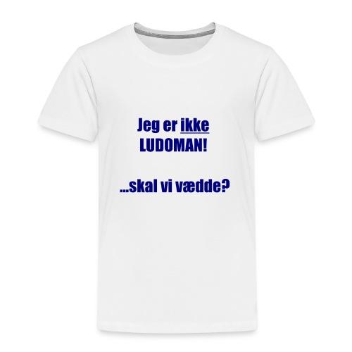 Ludoman_DK-jpg - Kids' Premium T-Shirt