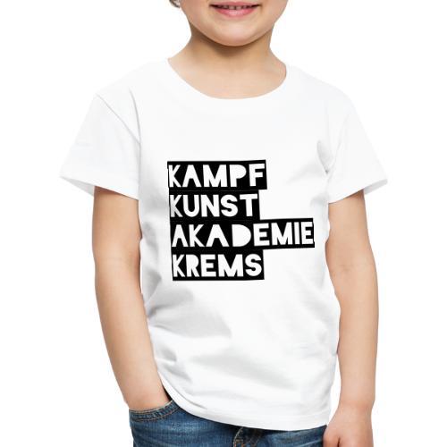 KKA 2016 lifestyle back2 - Kinder Premium T-Shirt