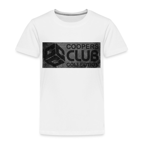 Coopers Club Collection distressed logo - Kids' Premium T-Shirt