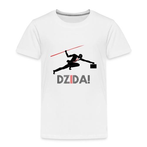 Dzida_wzor_czarny - Koszulka dziecięca Premium