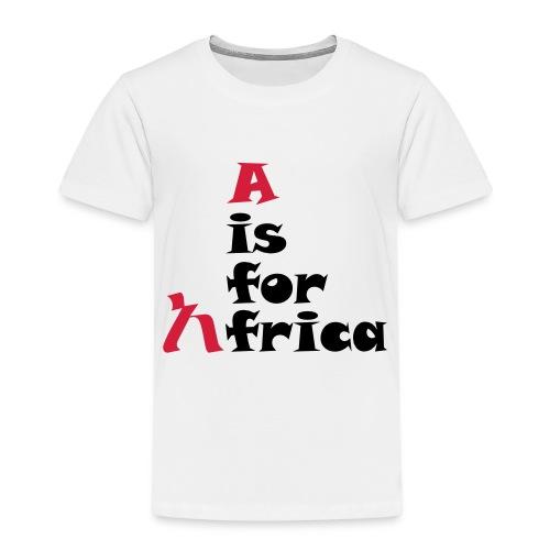 aisforafrica2 - Kids' Premium T-Shirt