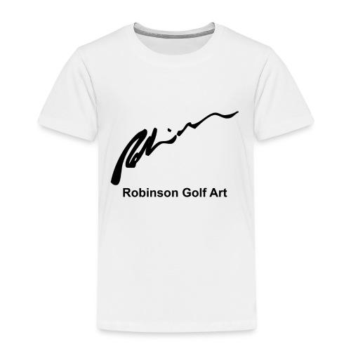Robinson Black Logo - Kids' Premium T-Shirt