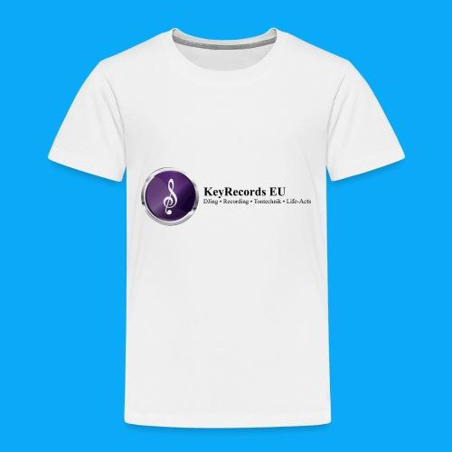 Logo KeyRecords EU - Kinder Premium T-Shirt