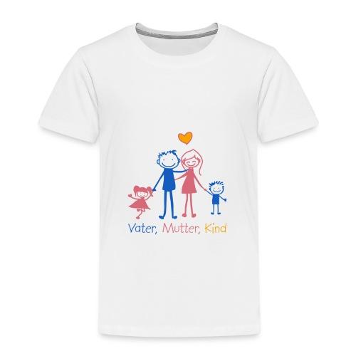 Vater, Mutter, Kind - Kinder Premium T-Shirt
