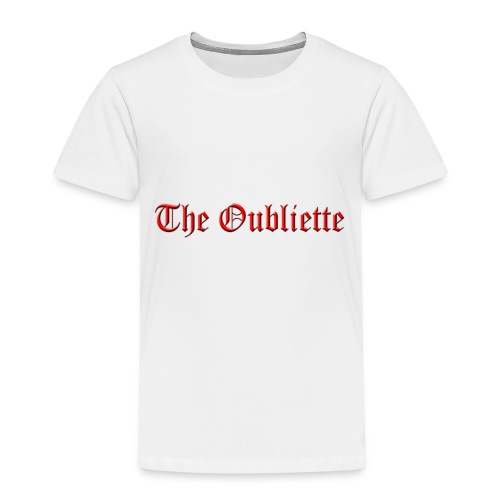 The Oubliette Apron - Kids' Premium T-Shirt