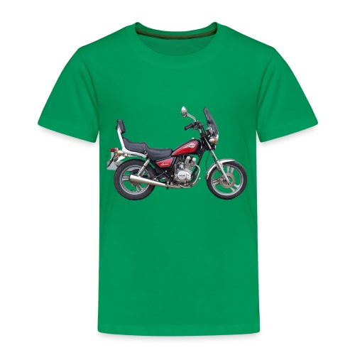 snm daelim vc 125 f advace seite rechts ohne - Kinder Premium T-Shirt