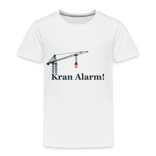 Kran Alarm - Børne premium T-shirt