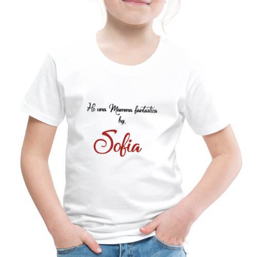 mamma_sofia_copia - Maglietta Premium per bambini