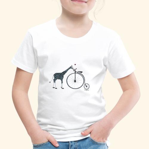 giraffe in love - Kinder Premium T-Shirt