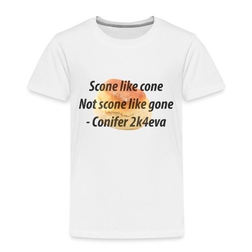Scone like cone, not gone! - Kids' Premium T-Shirt