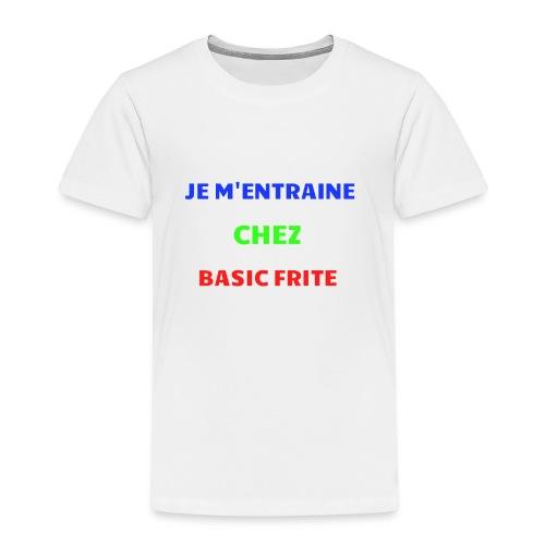 Basic Frite - T-shirt Premium Enfant