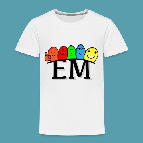 EM - Lasten premium t-paita
