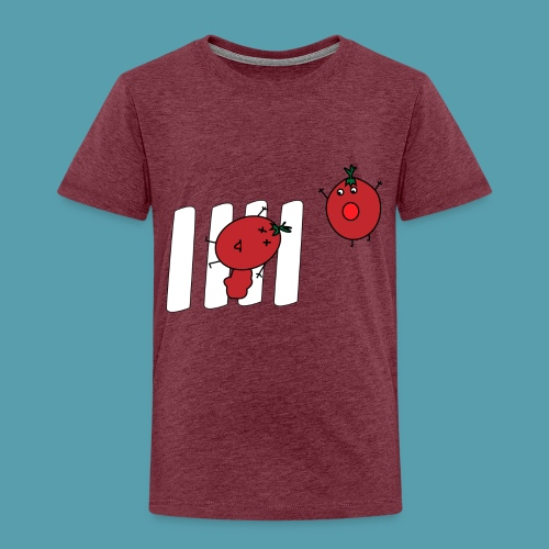 tomaatit - Lasten premium t-paita