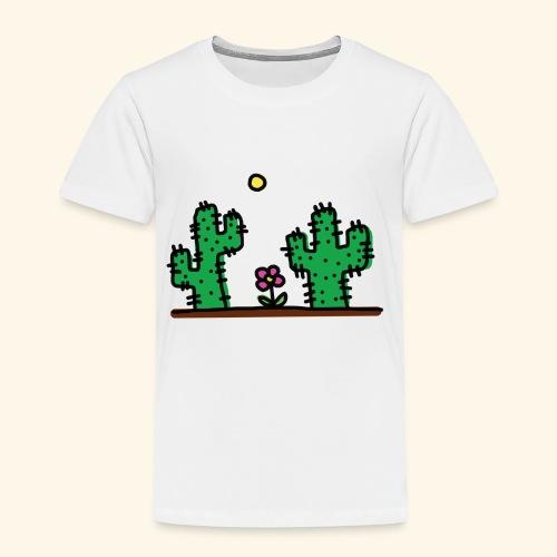 Cactus - Maglietta Premium per bambini