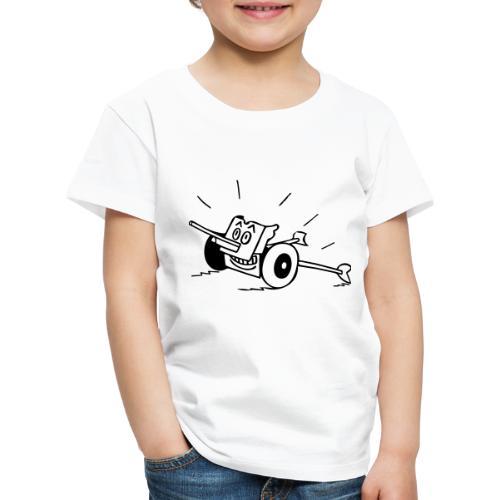 Panzerabwehrkanone - Kinder Premium T-Shirt