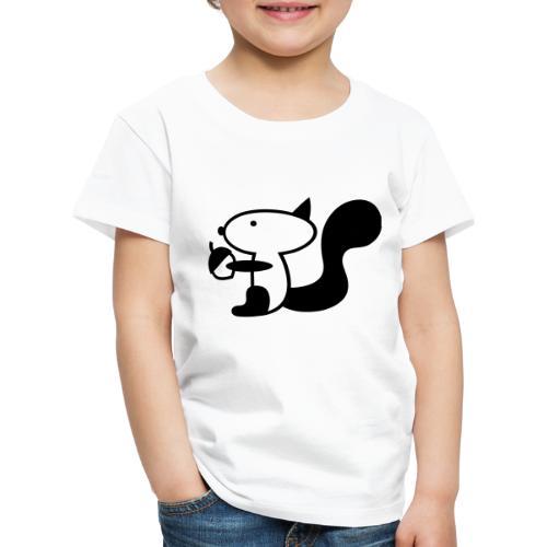 squirrelbw - Kinderen Premium T-shirt