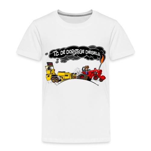 tc de dorstige diesels ACHTERKANT - Kinderen Premium T-shirt