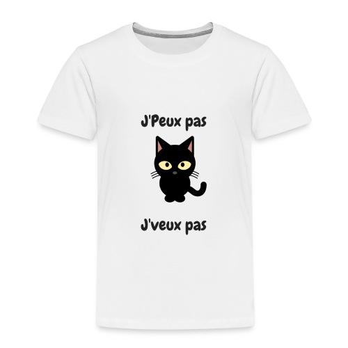 j'peux pas,j'veux pas - T-shirt Premium Enfant