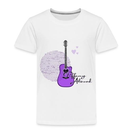 Purple Guitar - Kids' Premium T-Shirt