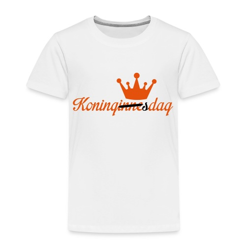 Koningsdag klein - Kinderen Premium T-shirt