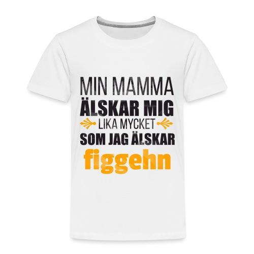 Min mamma älskar mig - Premium-T-shirt barn