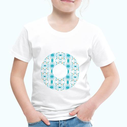 Hippie flowers donut - Kids' Premium T-Shirt
