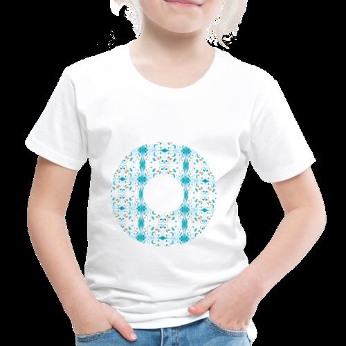 Hippie flowers donut - Kids' Premium T-Shirt