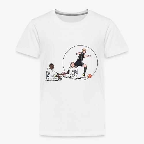 de jong vs real - Kinderen Premium T-shirt