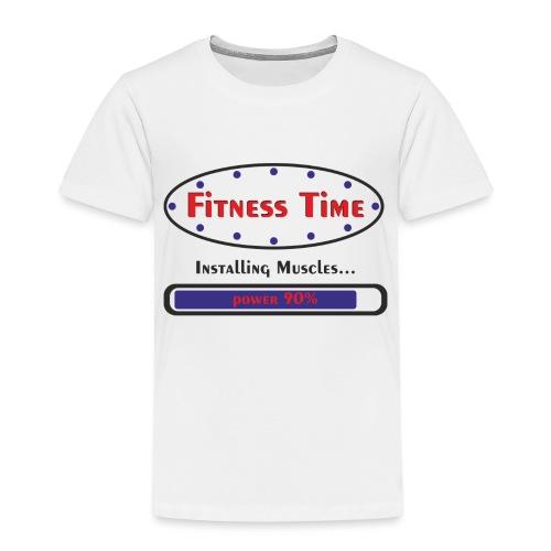 Fitness Time - Maglietta Premium per bambini