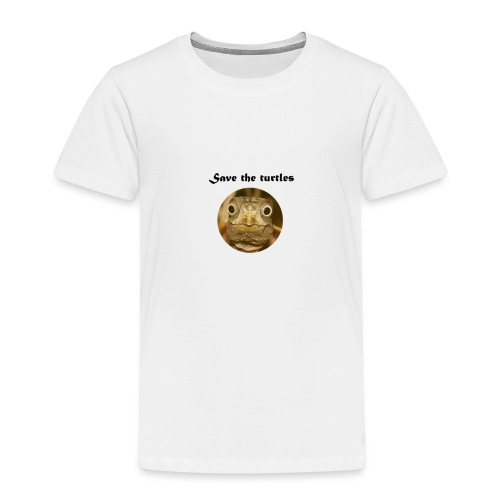 Save the turtles - Kinder Premium T-Shirt