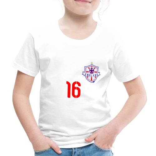 16 England 2014 Pelibol - Kinder Premium T-Shirt
