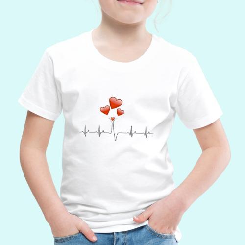 electrocardiogramme - T-shirt Premium Enfant