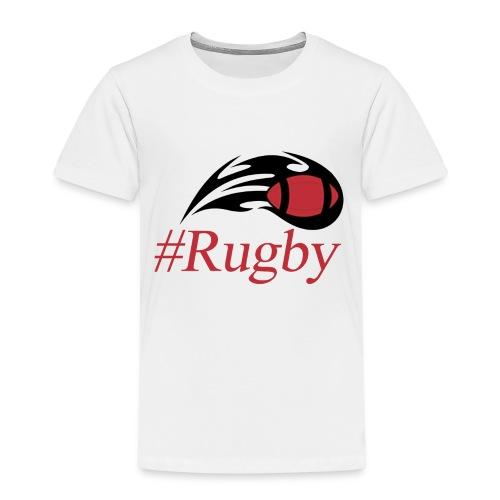 T-shirt Hashtag rugby - T-shirt Premium Enfant