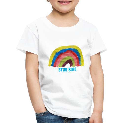 Stay Safe Rainbow Tshirt - Kids' Premium T-Shirt