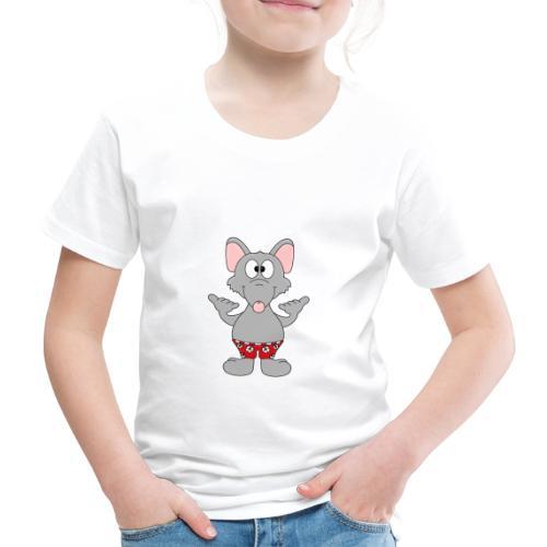 Lustige Ratte - Urlauber - Kiter - Surfer - Shaka - Kinder Premium T-Shirt