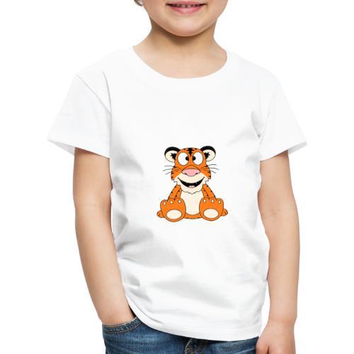 Lustiger Tiger - Kinder - Baby - Tier - Fun - Kinder Premium T-Shirt