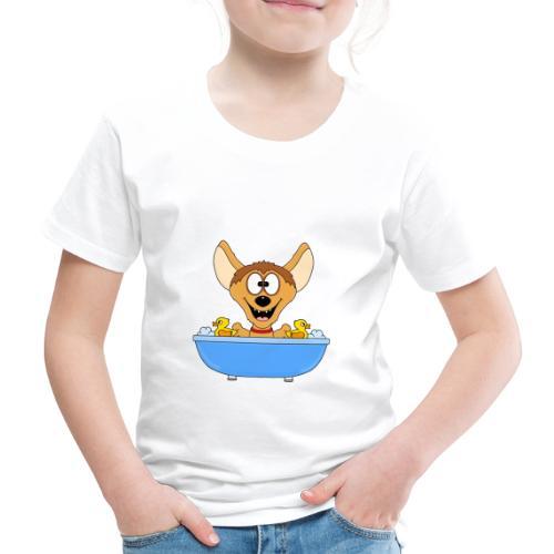 Lustige Hyäne - Badewanne - Kinder - Baby - Fun - Kinder Premium T-Shirt
