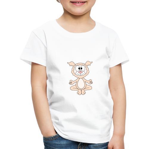 Lustiges Lama - Alpaka - Yoga - Chill - Relax - Kinder Premium T-Shirt