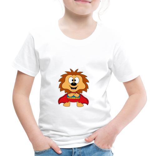 Lustiger Igel - Superheld - Kind - Baby - Tier - Kinder Premium T-Shirt