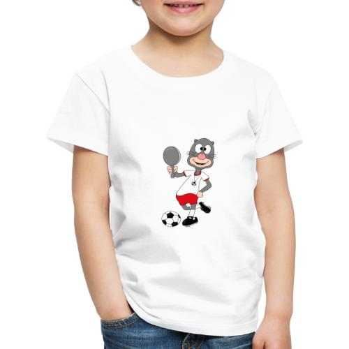 Lustiger Maulwurf - Fußball - Spiegel - Style - Kinder Premium T-Shirt
