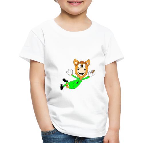 Lustiges Pferd - Fußball - Torwart - Fliegenfänger - Kinder Premium T-Shirt