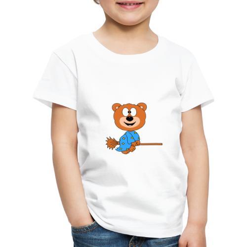 Lustiger Teddy - Bär - Hexe - Kind - Baby - Fun - Kinder Premium T-Shirt