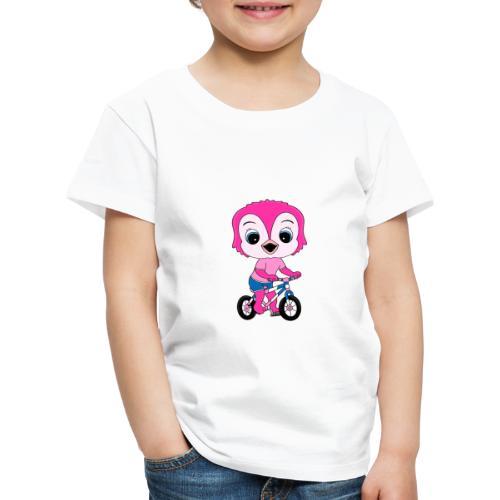 Lustige Eule - Fahrrad - Sport - Kind - Baby - Kinder Premium T-Shirt