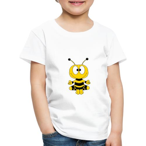 Lustige Biene - Yoga - Relax - Chill - Tier - Fun - Kinder Premium T-Shirt